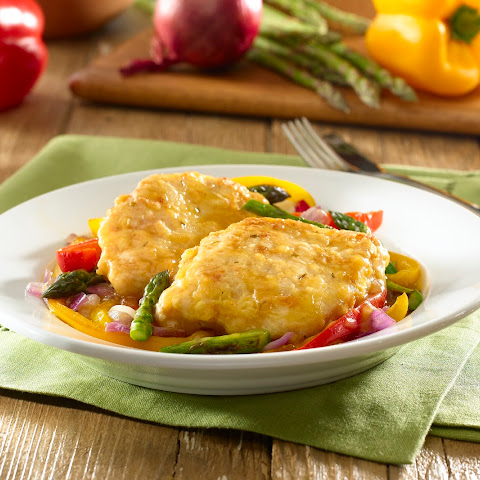 Golden Chicken & Vegetable Saute