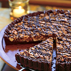 Cashew-Coconut Tart in Chocolate Crust