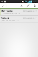 Screenshot of Basic GPS Tracker