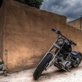 by David Bennett - Transportation Motorcycles