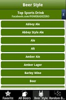 Screenshot of 7,800+ Beer Brands