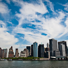 Manhattan by Anders Eriksson - City,  Street & Park  Skylines ( new york city, nyc, usa )