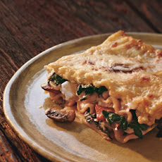 Swiss Chard Lasagna with Ricotta and Mushroom