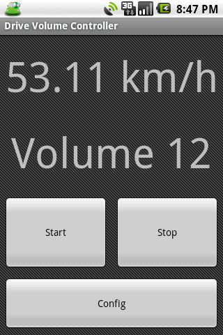 Driving Volume Controller