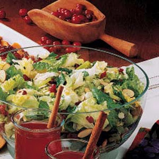 Green Salad With Dried Cranberries And Almonds Recipes
