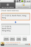 Screenshot of Address Validator Free