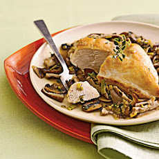 Chicken-and-Wild-Mushroom Fricassee