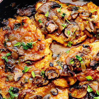 Skinny Chicken Marsala