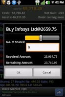 Screenshot of StockINDIA Trading GAME