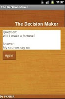Screenshot of The Decision Maker
