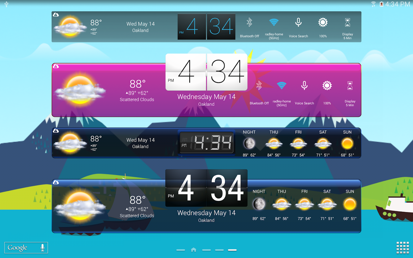 HD Widgets Screenshot 8