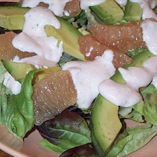 Avocado & Grapefruit Salad (Aka Friendly Flavor Fusion)