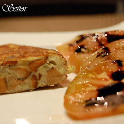 Potato and Mushroom Spanish Tortilla