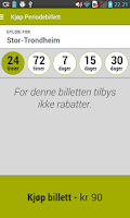 Screenshot of AtB Mobillett