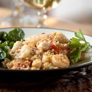Seafood Couscous Paella