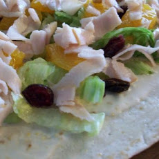 Fruited Turkey Wraps