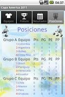 Screenshot of Copa America 2011 by Dudo