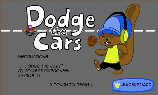 Dodge The Cars - screenshot