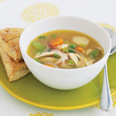 Ginger Chicken Soup With Vegetables