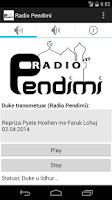Screenshot of Radio Pendimi