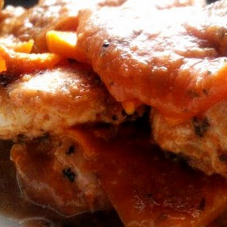 Garlic Chicken Butternut Squash Lasagna