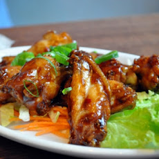Candied Garlic Chicken Wings