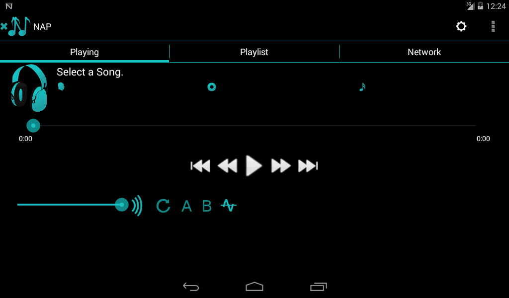 Network Audio Player Pro Screenshot 6