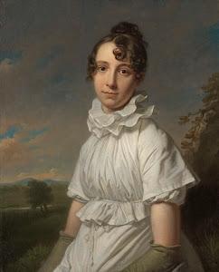 RIJKS: Charles Howard Hodges: Portrait of Emma Jane Hodges 1810