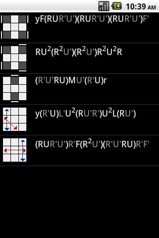 Speed Cube Algorithms