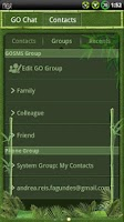 Screenshot of Bamboo GO SMS Theme