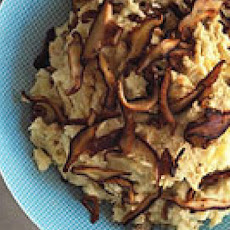 Hummus Shiitake Mashed Potatoes