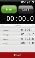 Screenshot of Lap  Stopwatch