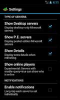 Screenshot of Server Status (for Minecraft)