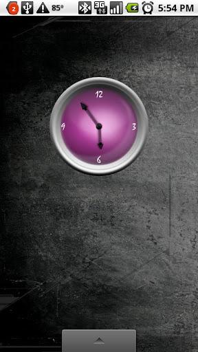 Cool Purple Clock