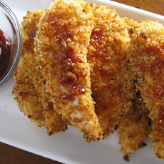 Crispy BBQ Chicken Fingers