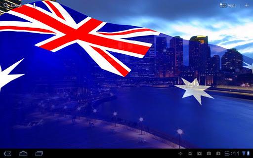 Flags of Oceania L. Wallpaper