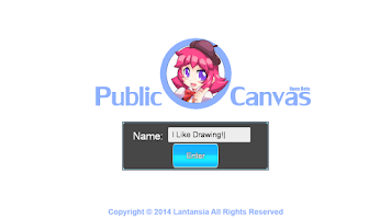 Screenshot of Public Canvas