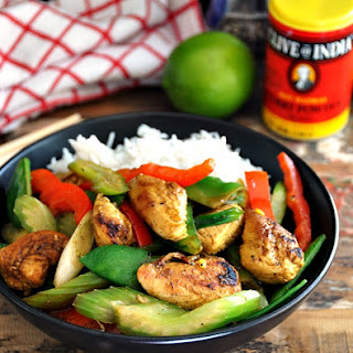 Curry Powder Stir Fry Chicken Recipes