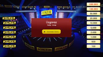 Screenshot of Joker Bilgi Yarışı