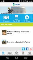Screenshot of Pepco Self-Service