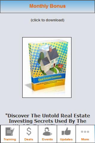 Real Estate Training App
