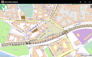 Screenshot of Berlin Offline City Map