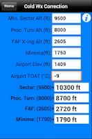 Screenshot of FlyBy E6B Free