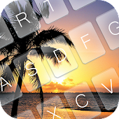 App Sunset Beach Keyboard Theme APK for Windows Phone