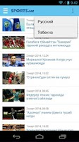 Screenshot of Sports.uz