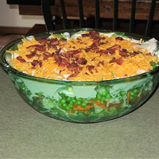 Deep Dish Layered Salad