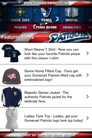 【免費運動App】Somerset Patriots-APP點子