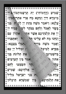 parashat haman small letters - screenshot