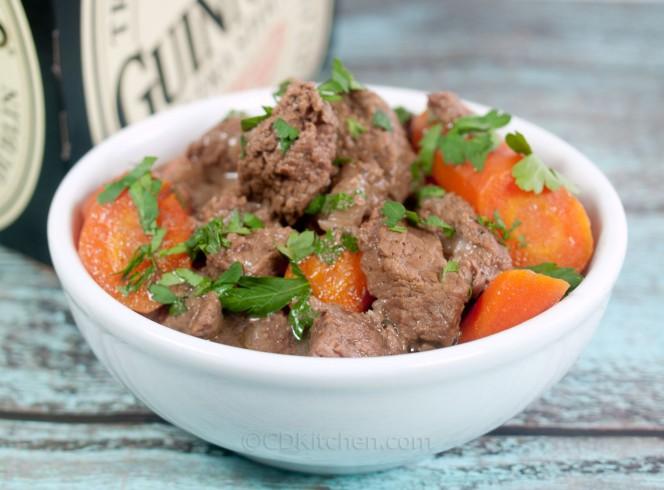 Irish Beef Stew with Guinness Stout Recipe | Yummly