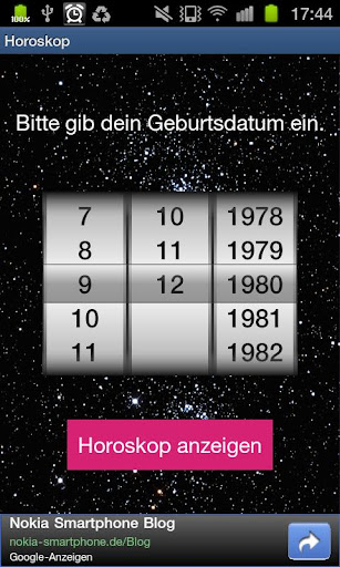 Dein Horoskop